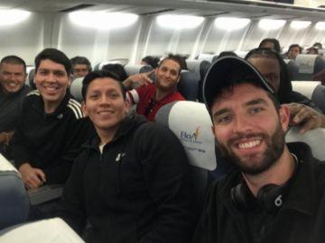 Nacional Potosí aterriza para su partido en la Libo