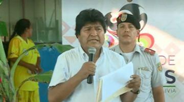 """Morales: """"Antes nadie quería ser diputado, yo me rogaba, ahora se pelean"""""""