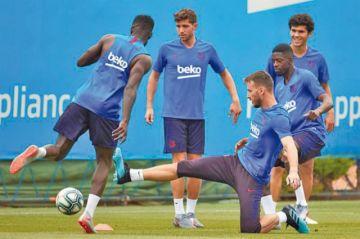 Barcelona parte a Japón con Griezmann y De Jong
