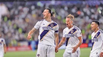 """Galaxy gana con un """"triplete"""" de Zlatan Ibrahimovic"""