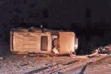 Turistas sufren accidente en el salar y hay seis heridos leves