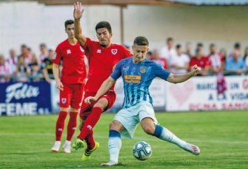 Atlético gana su partido amistoso con Numancia