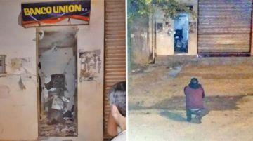 Identifican a los autores de explosión de cajero en Pando