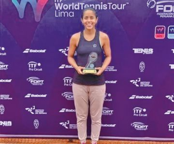 Noelia Zeballos logró el título en Perú