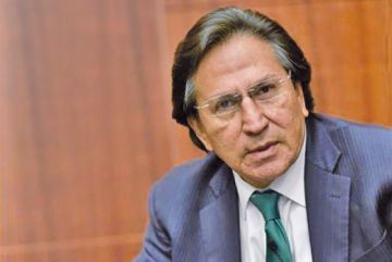 Toledo seguirá detenido en EEUU durante proceso de extradición a Perú