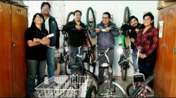Cochabamba: una organización paga a sus empleados por moverse en bici