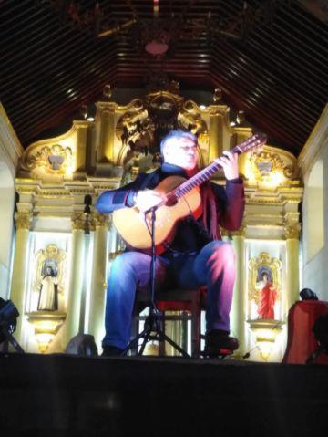 Concierto de Piraí Vaca llenó templo de Santo Domingo