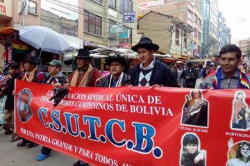 Campesinos anuncian que están preparados contra los opositores