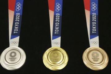 Tokio presenta medallas olímpicas