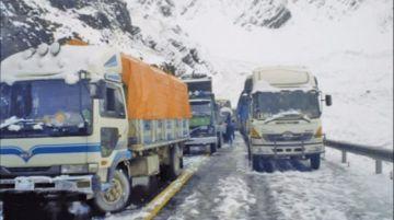 Defensa Civil y Fuerzas Armadas están en alerta ante nevadas en el país