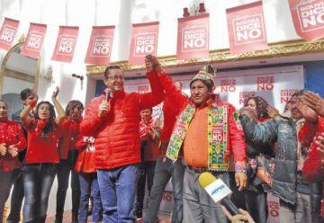 Ortiz presenta candidatos y dice que representan a todo Potosí