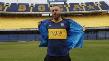 De Rossi firma contrato con Boca Juniors