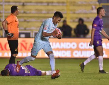 Bolívar gana 5 -2 a Real Potosí en La Paz