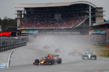 El holandés Verstappen gana el Gran Premio de Alemania