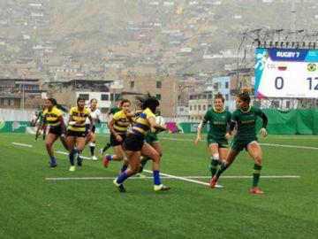 Colombia gana el bronce de rugby a siete