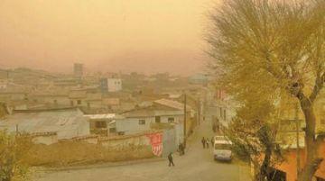 Emiten alerta temprana por fuertes vientos en Potosí