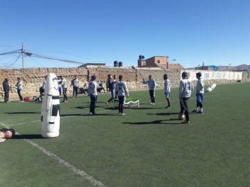 Nacional Potosí entrena antes de su encuentro con The Strongest
