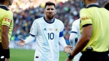 Conmebol suspende 3 meses a Messi