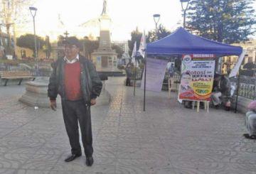 Jhonny Llaly espera personería para su agrupación ciudadana