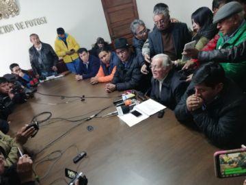 Gobierno no dialogará sobre el litio con el comité cívico