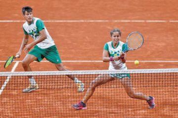 Bolivia obtiene plata en el tenis