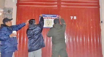 Cierran burdel ilegal que operaba en zona Satélite