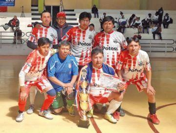 El Potosí se coronó campeón del torneo del CPDP