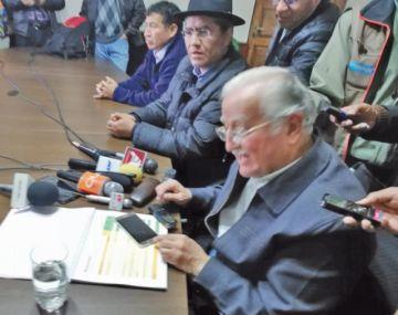 El canciller dialogó con  los líderes del sudoeste