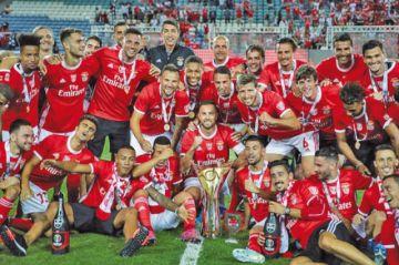 Benfica se lleva la Supercopa de Portugal  con goleada a Sporting