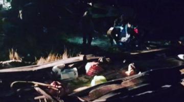 Accidente de tránsito deja 14 fallecidos y 21 heridos en la ruta Apolo - La Paz
