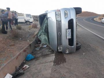 Accidente de tránsito provoca la muerte de un menor y hay seis heridos