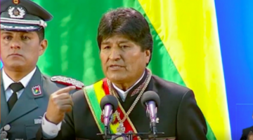 Evo en discurso: No quiero ser el mejor Presidente, quiero ser Presidente de la mejor Bolivia