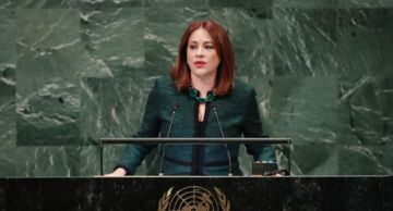 Presidenta de la ONU marchará en contra de la violencia a la mujer