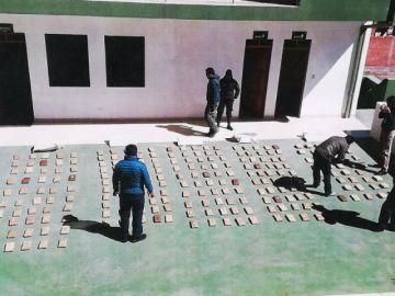 Incautan droga valuada en 350.000 dólares en Potosí