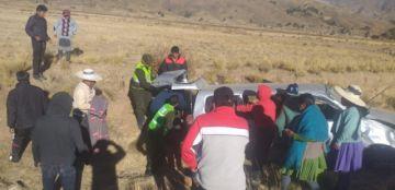 Un accidente siega la vida de personas en Uncía