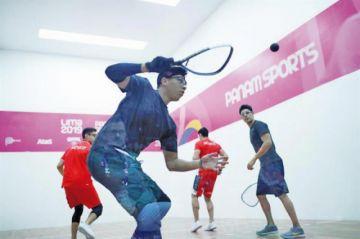 Equipo boliviano de raquetbol va por dos medallas en los panamericanos