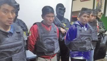 Capturan a tres presuntos feminicidas mineros y buscan a un cuarto