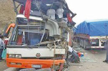 En el primer trimestre 260 personas murieron en accidentes carreteros