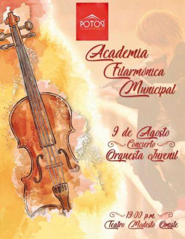 Se presenta la Academia Filarmónica Municipal