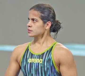 Tórrez queda sexta en la final de los 100 metros libres