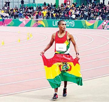 Basco quedó a un paso del podio en la prueba 10.000 metros
