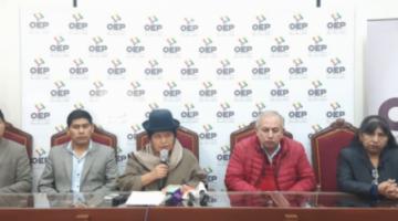 Tras decisión de TSE, oposición dice que primarias solo fueron para legitimar candidatura de Evo