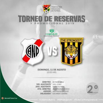 Nacional Potosí busca un triunfo ante el Tigre