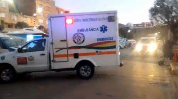 Atendieron de emergencia a personal de salud en Hospital Daniel Bracamonte