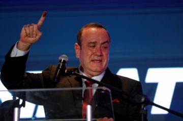 Alejandro Giammattei, nuevo presidente de Guatemala