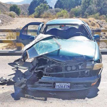 Cuatro accidentes viales provocaron cinco heridos