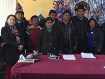 Canciller coordina temas relacionados a las zonas fronterizas en Llica