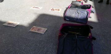 """""""Narcomaletas"""" valuadas en 60.000 dólares fueron incautadas en Potosí"""