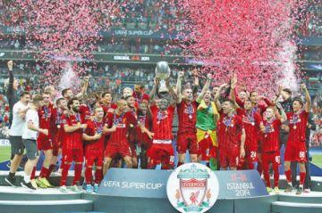 Liverpool logra su cuarta Supercopa