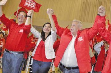 Shirley Franco sustituye a Edwin Rodríguez en Bolivia Dice NO